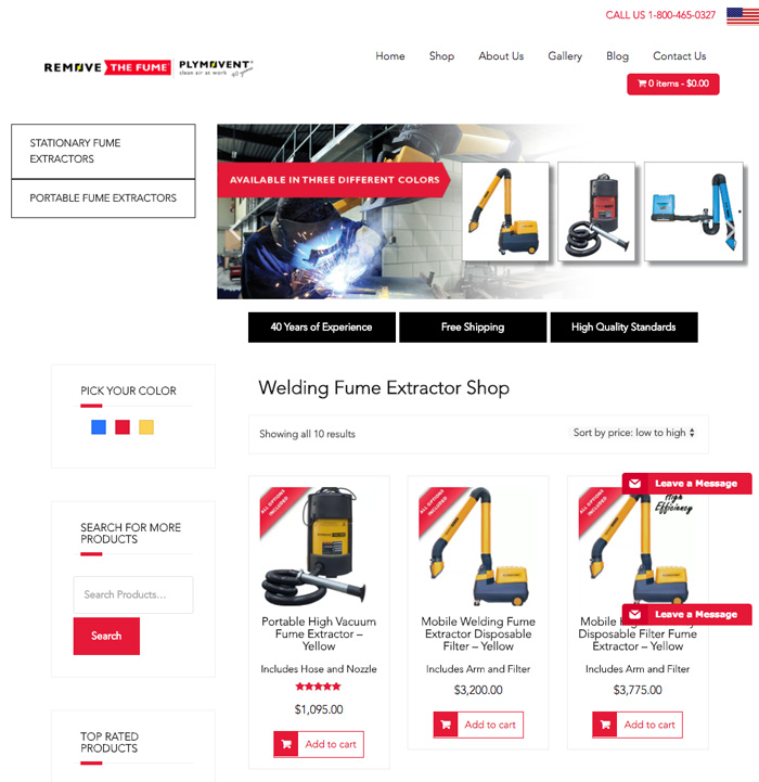 removethefume-website