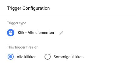 google tag-manager trigger configuration
