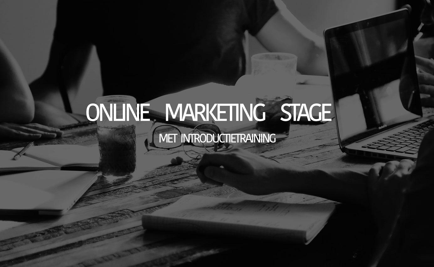 Gezocht: online marketing stagiair