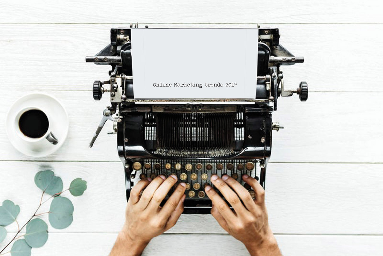De 5 meest opvallende online marketing trends voor 2019