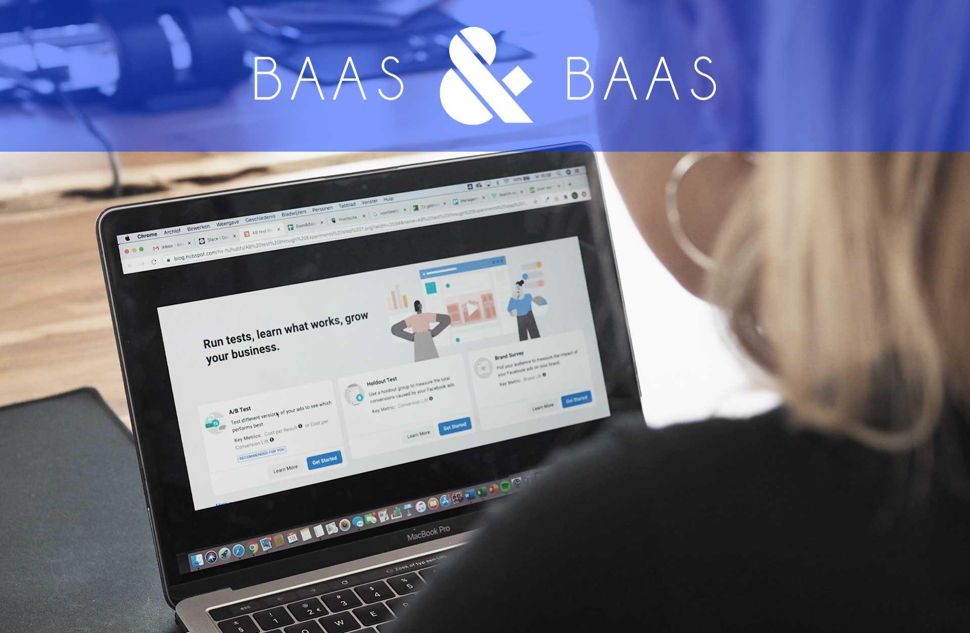 A/B-testen met Facebook Business Manager